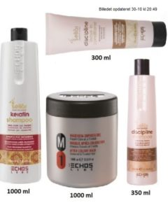 Fie Pakke - Keratin Shampoo 1000 ml - M1 Mask 1000 ml- Discipline Shampoo 350 ml - Discipline Conditioner 300ml - Værdi 1386,-
